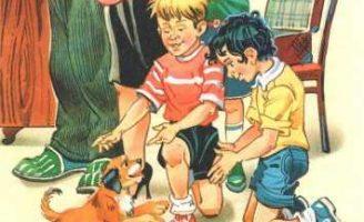Дружок — Носов Н.Н. Рассказ как два друга везли в город щенка. 5 (2)