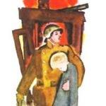 Дым - Житков Б.С. Рассказ про отважного пожарного, спасшего мальчика.