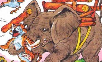 Как слон спас хозяина от тигра — Житков Б.С. История про слон и тигра.
