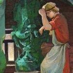Каменный цветок - Бажов П.П. Сказ про Данилу и его мастерство.
