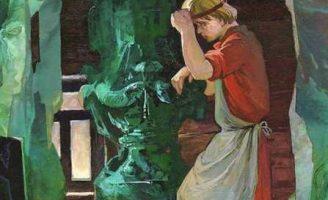 Каменный цветок — Бажов П.П. Сказ про Данилу и его мастерство.