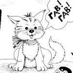 Котенок, который умел лаять - Малышев М.И. Сказка про котенка.