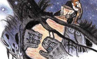 Кожаный мешок — Валенберг А. Сказка про крестьянина Никласа и тролля. 1 (1)