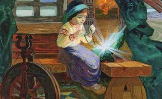 Малахитовая шкатулка — Бажов П.П. Сказка про девушку и шкатулку.