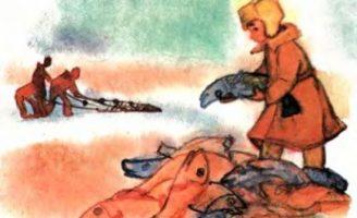 На льдине — Житков Б.С. Рассказ про рыбаков, которых унесло на льдине. 3.8 (4)