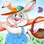 Находчивый зайчишка - Малышев М.И. Как зайчишка к бабушке шел.