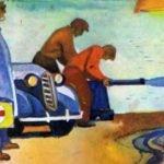 Обвал - Житков Б.С. Рассказ про обвал на дороге перед машиной доктора.