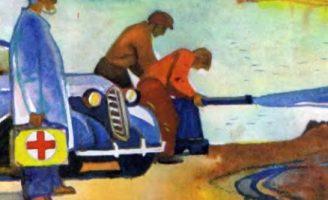 Обвал — Житков Б.С. Рассказ про обвал на дороге перед машиной доктора.