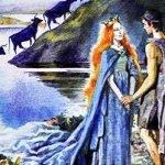 Озерная дева - британская сказка. Сказка про юношу и озерную деву.