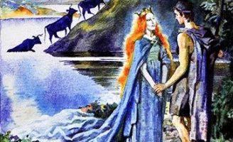 Озерная дева — британская сказка. Сказка про юношу и озерную деву. 5 (1)