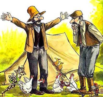 Петсон и Финдус: Петсон в походе - Нурдквист С.