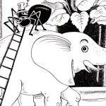 Пластилиновый слоник - Малышев М.И. Сказка про слоника и цветок.