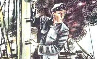 Пожар в море — Житков Б.С. Рассказ про пожар на пароходе с углем.