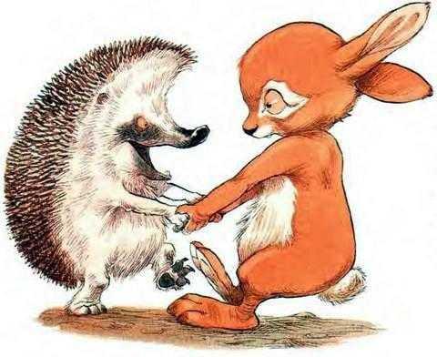 Про Ёжика и Кролика: А ну-ка, вспоминай! - Стюарт П. и Риддел К.