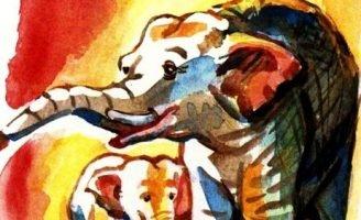 Про слона — Житков Б.С. Рассказ о том, как в Индии живут слоны.
