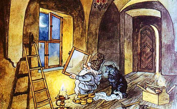 Сказка про старого гнома - Топелиус З.