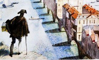 Сон коробейника — британская сказка. Сказка про разбогатевшего торговца.