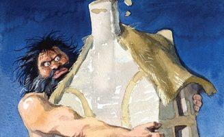 Умная Унаг — британская сказка. Сказка про двух великанов.