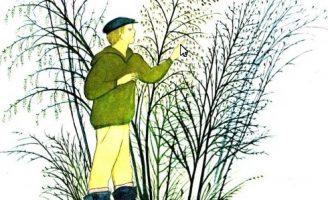 Весенний вечер — Коваль Ю.И. Рассказ про наблюдения за природой в лесу