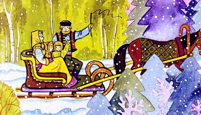 Зимняя сказка - Топелиус С.