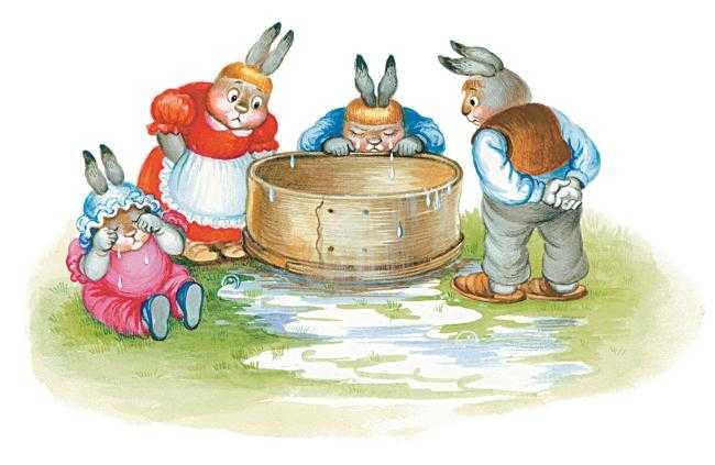 Сказка про маленьких крольчат - Харрис Д.Ч.