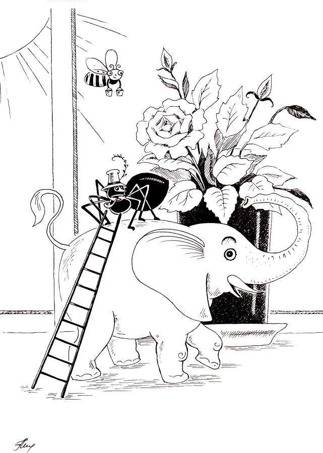 Пластилиновый слоник - Малышев М.И.
