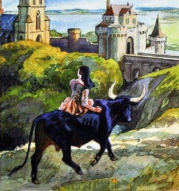 Черный бык из Норровея - британская сказка