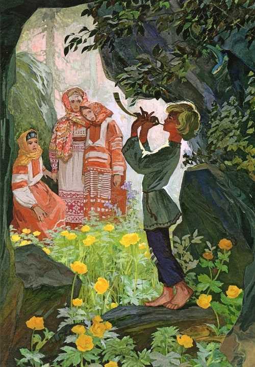 Каменный цветок - Бажов П.П.