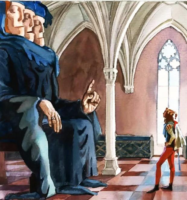 Рыжий Эттин - британская сказка