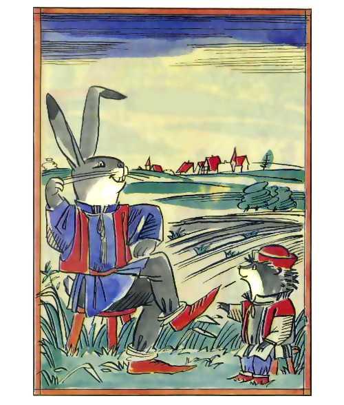 Заяц и Еж - Братья Гримм