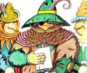 Черт с тремя золотыми волосами - немецкая народная сказка.