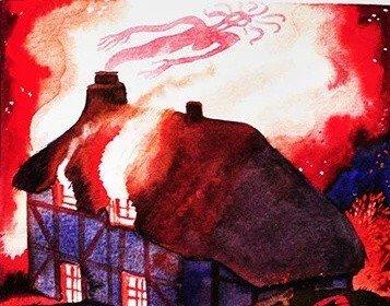 Джип и ведьма из Уолгрейва - британская сказка
