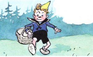 Фунтик и огурцы - Носов Н.Н. Как Фунтик за грибами в лес ходил.