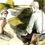 Голубая чашка - Гайдар А. Рассказ про жизнь на даче летом.
