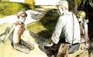 Голубая чашка — Гайдар А. Рассказ про жизнь на даче летом. 0 (0)