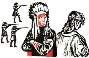 Индеец и англичанин - Толстой Л.Н. Рассказ про пленного англичанина