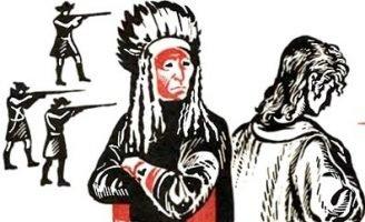 Индеец и англичанин — Толстой Л.Н. Рассказ про пленного англичанина