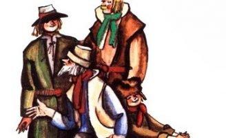 Как глупый сын ездил в Ригу — латышская сказка. Сказка про братьев.