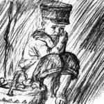 Как мальчик рассказывал о том, как его в лесу застала гроза - Толстой Л.Н.