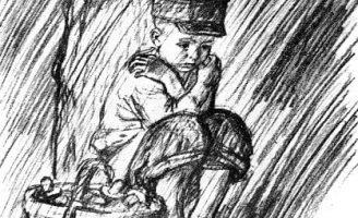 Как мальчик рассказывал о том, как его в лесу застала гроза — Толстой Л.Н.