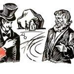Как мужик убрал камень - Толстой Л.Н. Про смекалистого мужика.