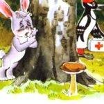 Как у зайчонка зуб болел - Абрамцева Н. Как зайчонку зуб лечили.