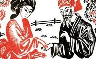 Китайская царица Силинчи — Толстой Л.Н. Как в Китае изобрели шелк.
