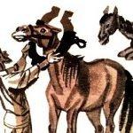 Конь и кобыла - Толстой Л.Н. Басня про совет кобылы.