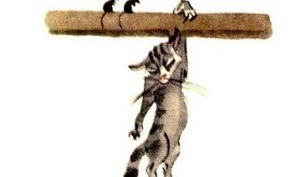 Кот и мыши — Толстой Л.Н. Как кот хотел мышей перехитрить.