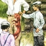 Кот-ворюга - Паустовский К. история про голодного кота.