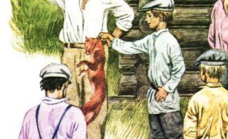 Кот-ворюга — Паустовский К. история про голодного кота.