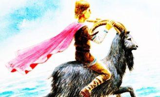Козёл-Круторог — норвежская сказка автор Нурман С.Р.