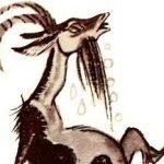 Лисица и козел - Толстой Л.Н. Басня про козла и лисицу.