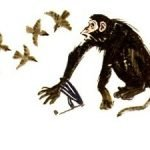 Лисица и обезьяна - Толстой Л.Н. Басня про глупость начальников.